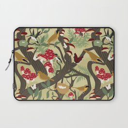 North American Forest Pattern (Natural) Laptop Sleeve