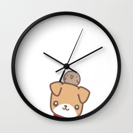 DodgerBirb Wall Clock