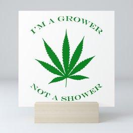 Marijuana Dispensary Legal Weed Mini Art Print