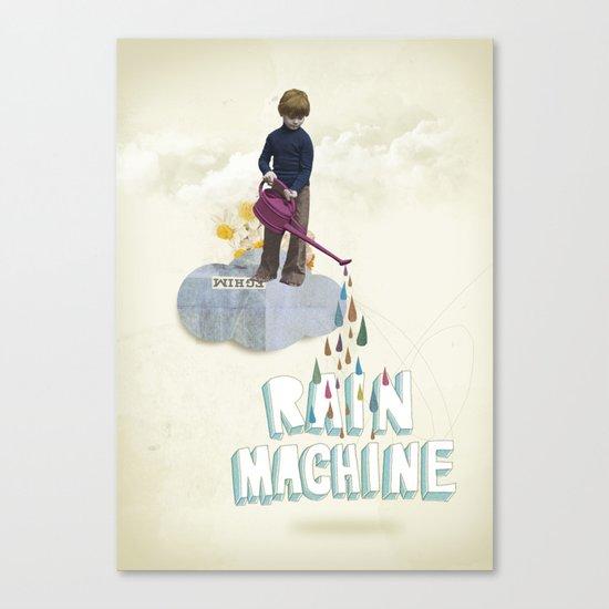 Rain Machine Canvas Print