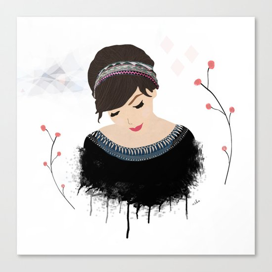 ONE SWEET GIRL Canvas Print