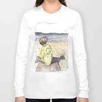 cape cod Long Sleeve T-shirts featuring Cape Cod by Katerina Skassi