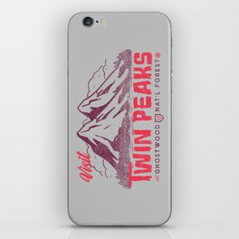 Visit Twin Peaks iPhone Skin