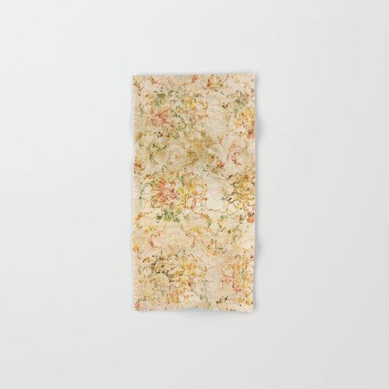Vintage Sunflower #2 Hand & Bath Towel