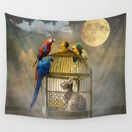 Free for now Wall Tapestry