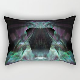 The Odyssey Continues [series: Glitch Re:Work] Rectangular Pillow