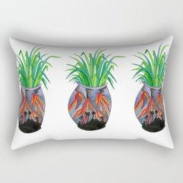 Volcano Vase Rectangular Pillow