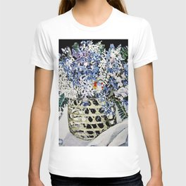 """""""Mixed Flowers in a Basket"""" by Margaret Preston T-shirt"""