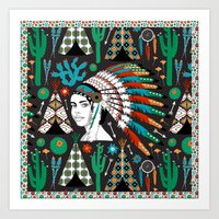 southwest Art Prints featuring Southwest by Vannina
