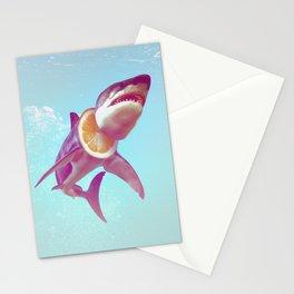 Lemon Shark Stationery Cards