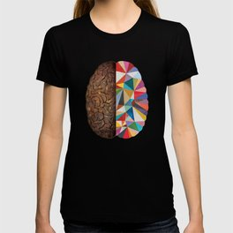 Geometric Right Brain T-shirt