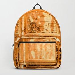 Orange Glass Backpack