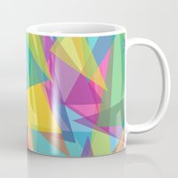 transparent Mugs featuring Transparent Triangles by AleyshaKate
