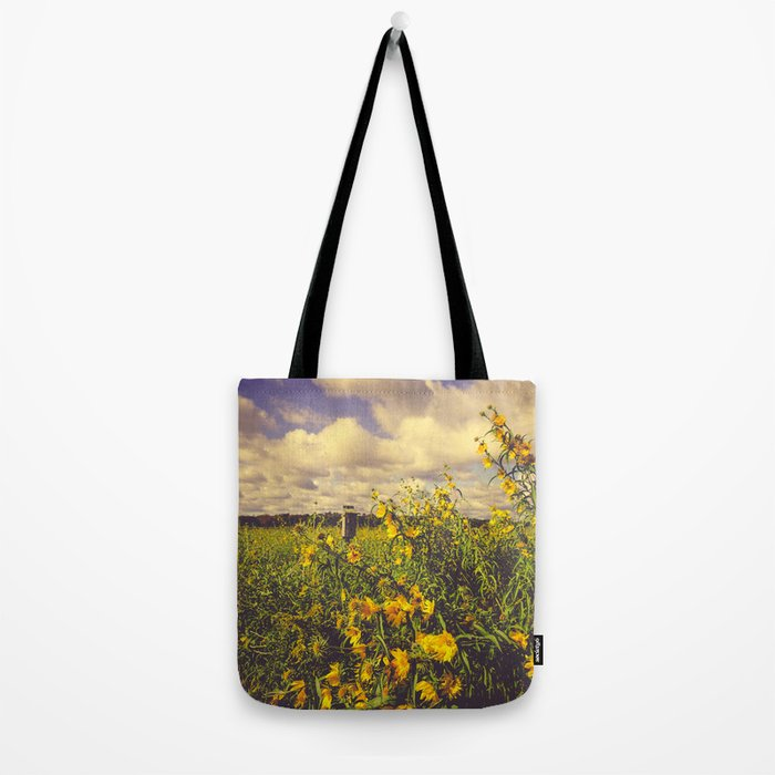 Field of Happiness Tote Bag