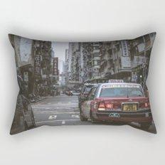 Hong Kong Street Rectangular Pillow