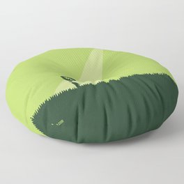 WTF? Ovni! Floor Pillow