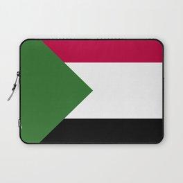 Sudan flag emblem Laptop Sleeve