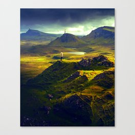 The Mountain Men at Isle Of Skye Canvas Print