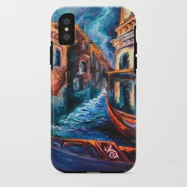 """""""Venice at Night"""" Painting iPhone Case"""