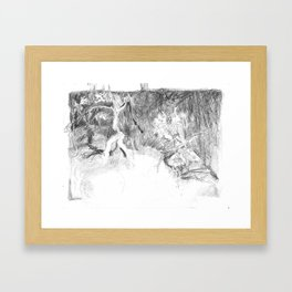 Seven Children Framed Art Print