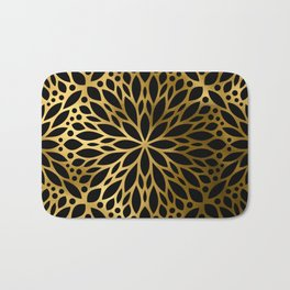Hollywood Classically Ornate Art Deco Pattern Bath Mat