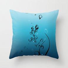 Fluid Inspiration Throw Pillow