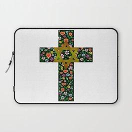 Christian David Cross Laptop Sleeve