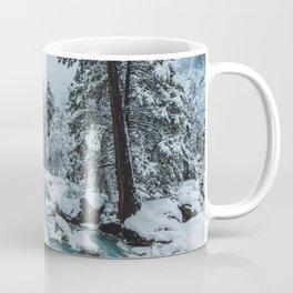 Blue Winter in Yosemite Coffee Mug