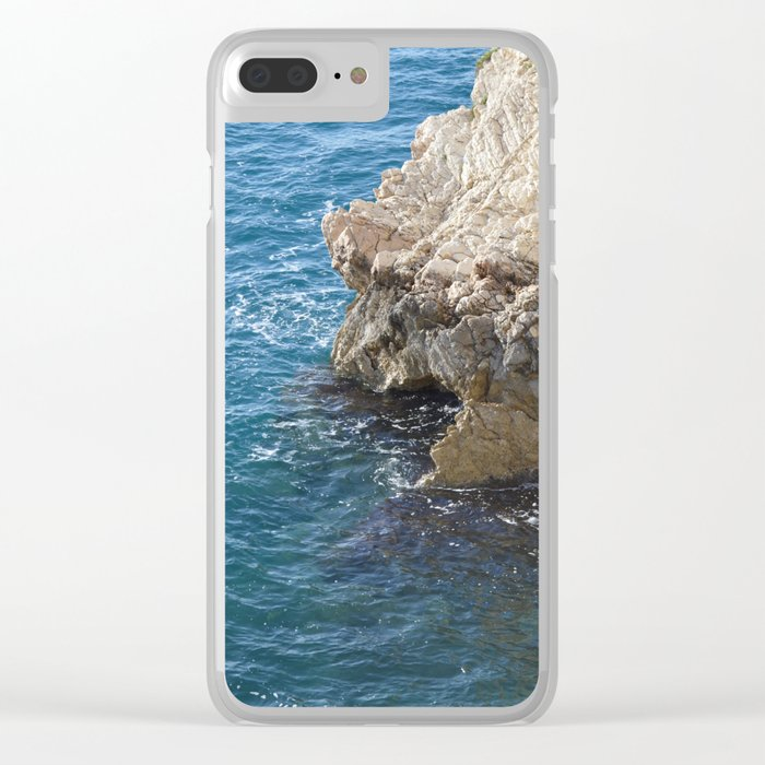 Albanian Cliffs Clear iPhone Case