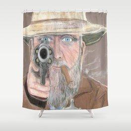 Ol Timer Shower Curtain