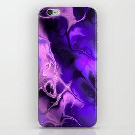 The Love For Violet Purple - Fractal Art iPhone Skin