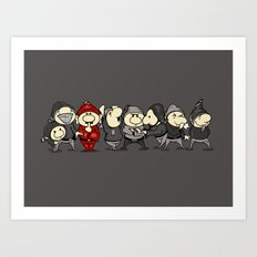 Red Dwarf Art Print