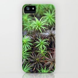 Living in Little Worlds iPhone Case