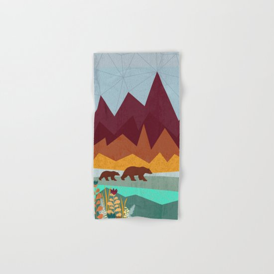Peak Hand & Bath Towel