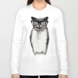 Mr. Owl Long Sleeve T-shirt