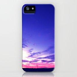 Big Sky Sunset iPhone Case
