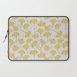 Ginkgo Pattern Laptop Sleeve