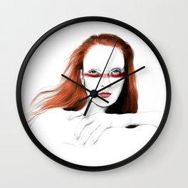 Love Girls - Blood redhead Wall Clock