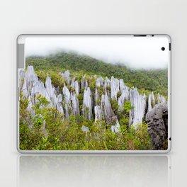 Limestone pinnacles formation at Gunung Mulu national park Borneo Malaysia Laptop & iPad Skin