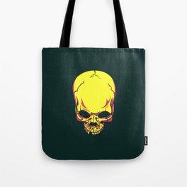 neon skull. Tote Bag