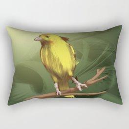 Canarinho Rectangular Pillow
