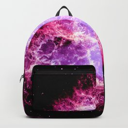 Pink Crab Nebula Backpack