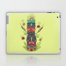 Tiki totem Laptop & iPad Skin