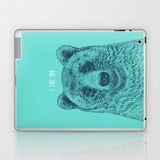 I Like You (Bear) Laptop & iPad Skin