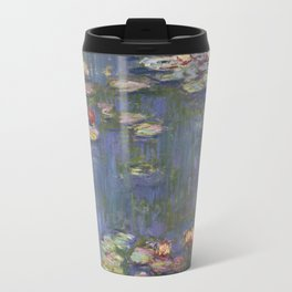 Claude Monet - Water Lilies, 1916 Travel Mug
