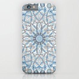 Mandal Floral Design iPhone Case