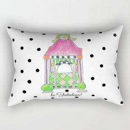 be Fabulous! Rectangular Pillow