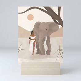 Spirit Animal – Elephant Mini Art Print