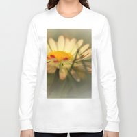 daisy Long Sleeve T-shirts featuring Daisy by Falko Follert Art-FF77