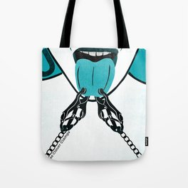 KinkyABC J is for Japanese Cloverclamps Tote Bag